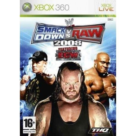 SmackDown vs. Raw 2008 xbox 360