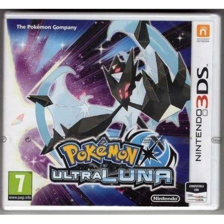 Pokemon Ultra luna 3DS