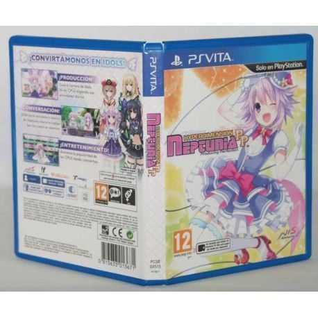 Hyperdimension Neptunia: Producing Perfection PSVita