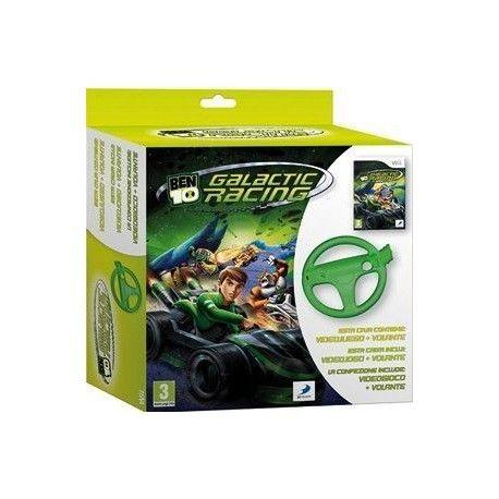BEN 10 Galactic Racing + Volante Wii