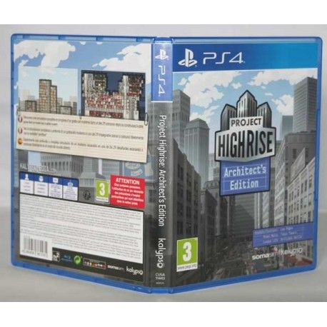 Project Highrise Architect's Edition PS4