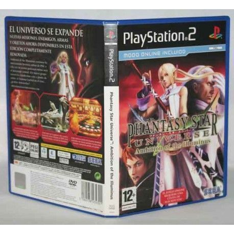 Phantasy Star Universe Ambition Of Illuminus PS2