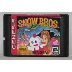 Snow Bros Megadrive