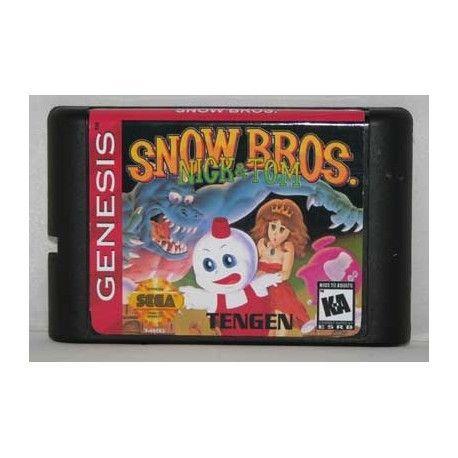 Snow Bros Megadrive