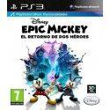 Epic Mickey el Retorno de Dos Héroes PS3