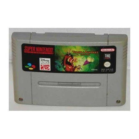 Timon & Pumbaa's Jungle Games SNES