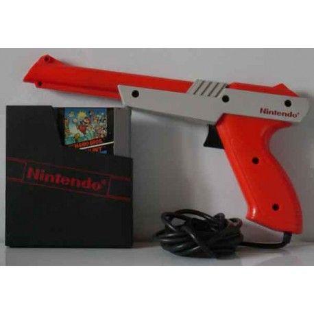 Super Mario Bros + duck Hunt + Pistola Zapper Nes