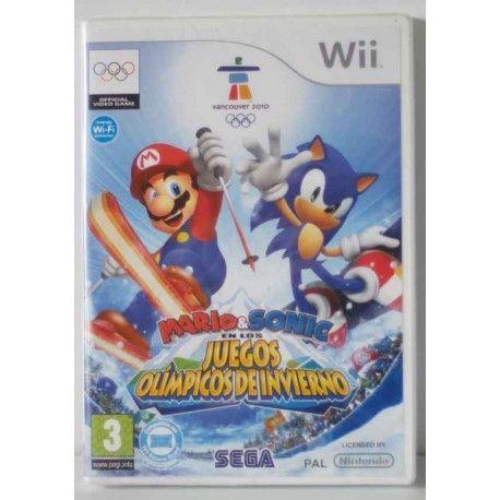Mario & Sonic en los Juegos Olímpicos de Invierno Wii