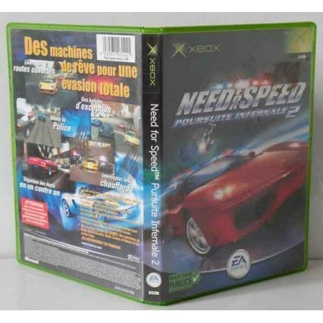 Need for Speed: Hot Pursuit 2 Xbox (PAL Francia)