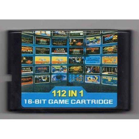 112 juegos en 1 cartucho Sega Mega Drive