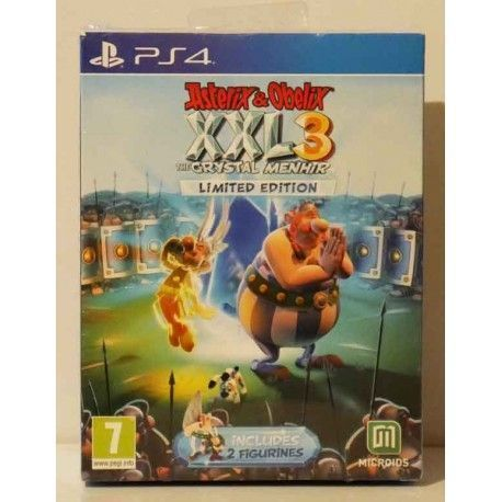 Asterix Y Obelix Xxl 3 The Crystal Menhir Limited Edition PS4