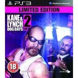 Kane & Lynch Dog Days Limited Edition PS3