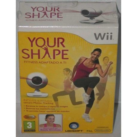 Your Shape +Camara Motion Tracking Wii