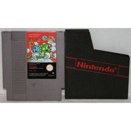 Bubble Bobble Nintendo NES