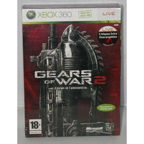 Gears of War 2 Edición de Coleccionista Xbox 360