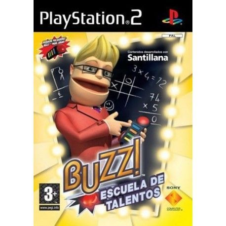 Buzz Escuela de Talentos PS2