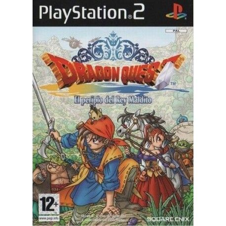 Dragon Quest el Periplo del Rey Maldito PS2