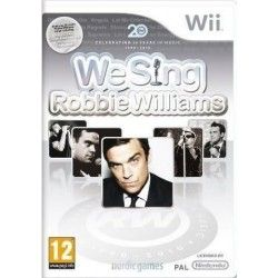 We Sing: Robbie Williams Nintendo Wii