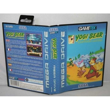 Yogi Bear Cartoon Capers MegaDrive