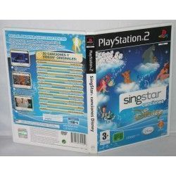 SingStar Canciones Disney PS2