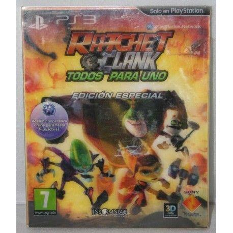 Ratchet & Clank: Todos para uno Edición Especial PS3