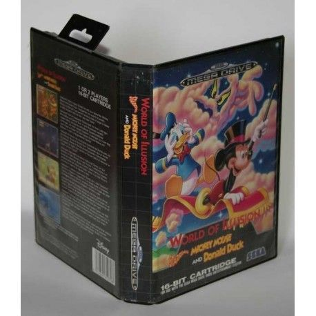 World of illusion: Starring Mickey Mouse and Donald Duck Megadrive