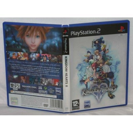 Kingdom Hearts 2 PS2