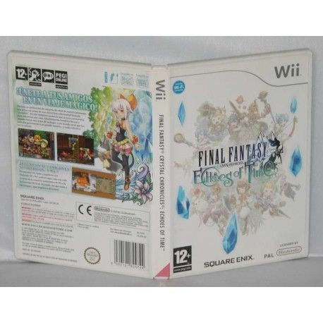 Final Fantasy Crystal Chronicles: Echoes of time Wii