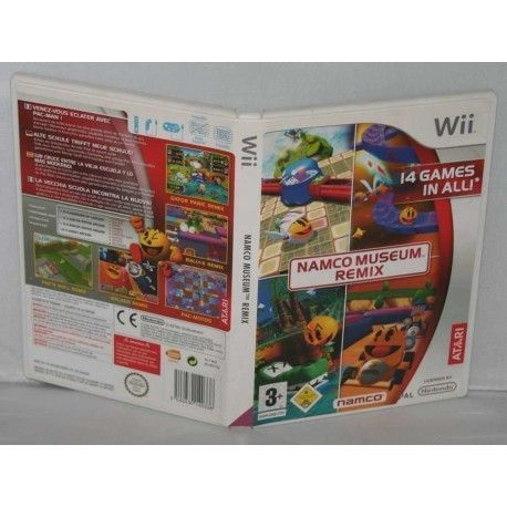 Namco Museum Remix Wii