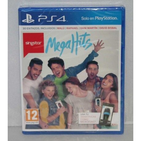 SingStar MegaHits PS4