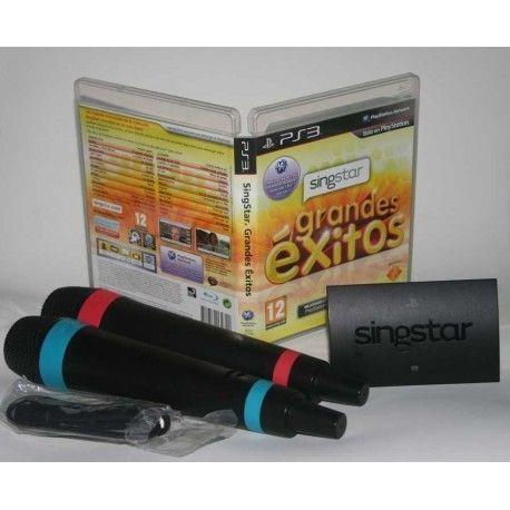 Singstar Grandes Exitos + Micrófonos Inalámbricos PS3