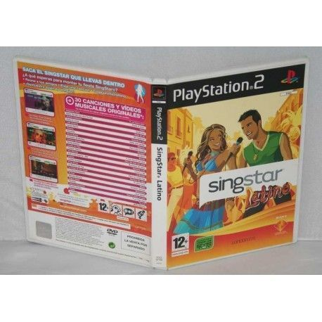 SingStar Latino PS2