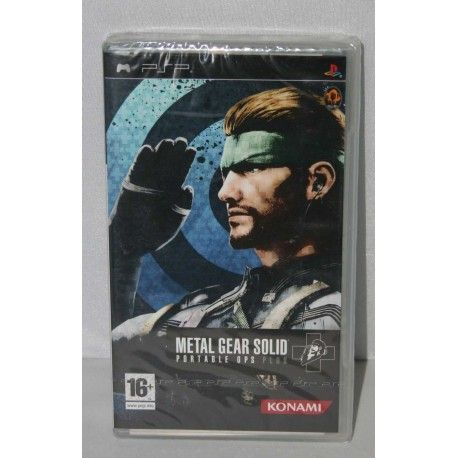 Metal Gear Solid : Portable Ops Plus PSP