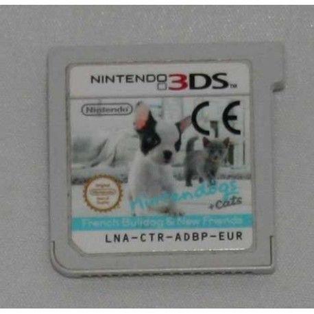 Nintendogs + cats: Bulldog Francés y nuevos amigos 3DS