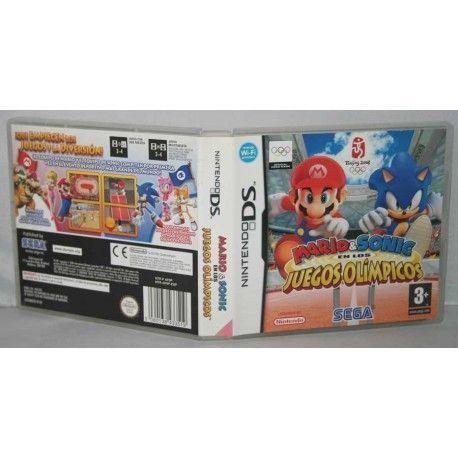 Mario & Sonic en los Juegos Olímpicos NDS