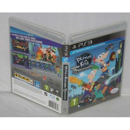 Phineas y Ferb: A Través de la Segunda Dimensión PS3